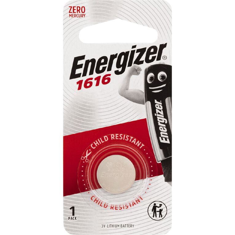 Energizer Lithium Coin Battery 1616, , hi-res