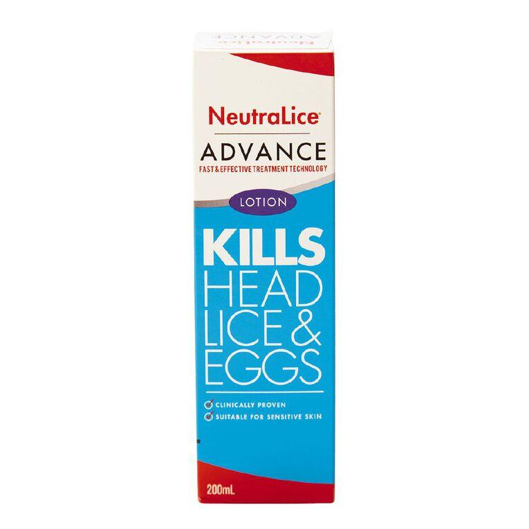 Neutralice Advance Lotion 200ml, , hi-res