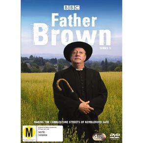 Father Brown Season 3 DVD 4Disc