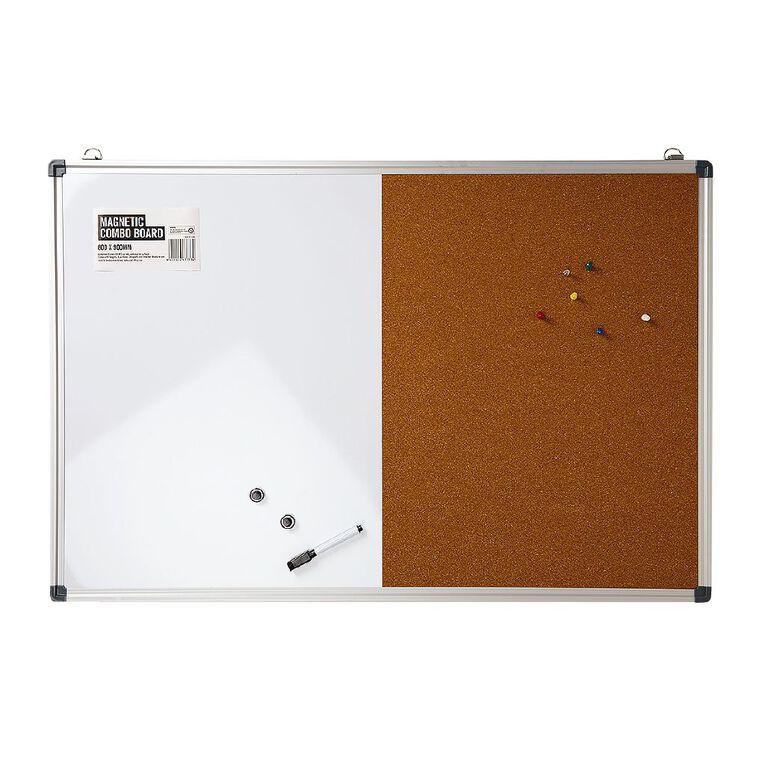 Magnetic Comboboard 600 x 900mm, , hi-res