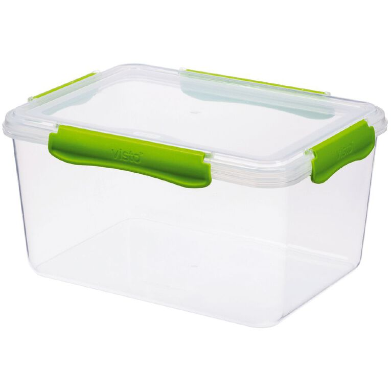Visto Fresh Storage Container Clear 3.6L Assorted 3.6L, , hi-res