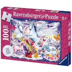 Ravensburger Amazing Unicorns Puzzle Glitter 100 Piece