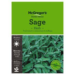 McGregor's Herb Sage Seed
