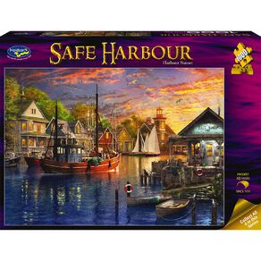 Safe Harbour 1000 Piece Puzzle Assorted