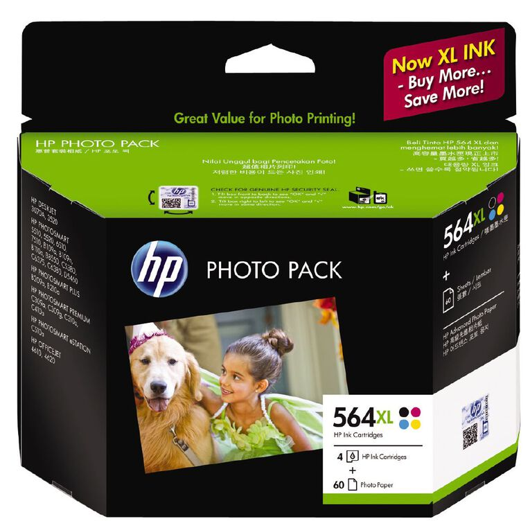 HP Ink 564XL Photo Value 4 Pack, , hi-res