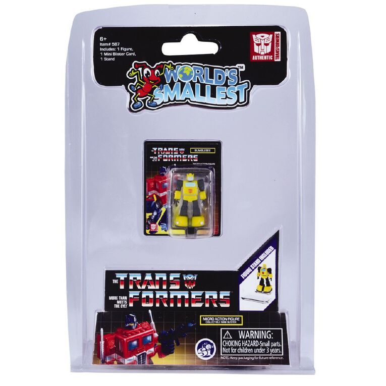 World's Smallest Action Figure Assorted, , hi-res