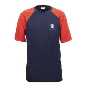 Schooltex Balmoral Intermediate Physical Education Shirt with Embroidery