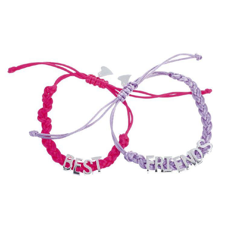 Kids Best Friends Bracelet, Multi-Coloured, hi-res