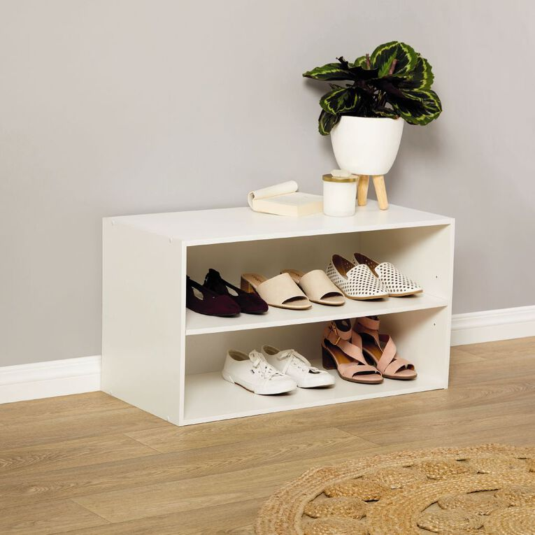 Living & Co Wardrobe Shoe Rack 2 Tier, , hi-res