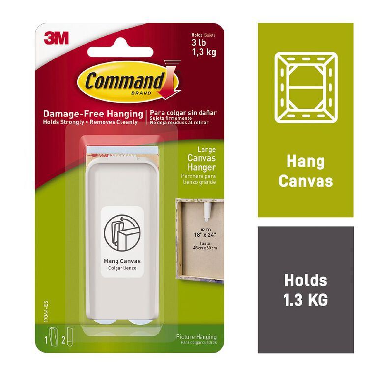 Command Canvas Hanger Large, , hi-res