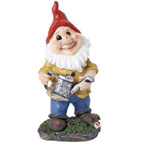 Kiwi Garden Gnome Gardener Assorted 28cm
