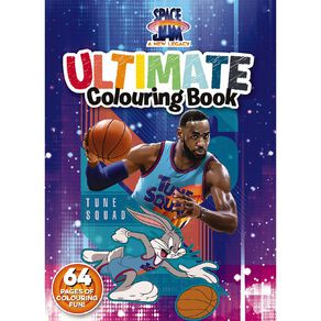 Space Jam A New Legacy: Ultimate Colouring Book