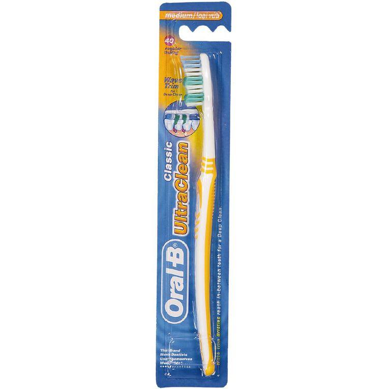 Oral-B Toothbrush Ultra Clean Classic Medium Single, , hi-res