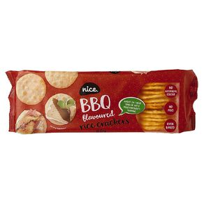 Nice Rice Cracker BBQ 100g