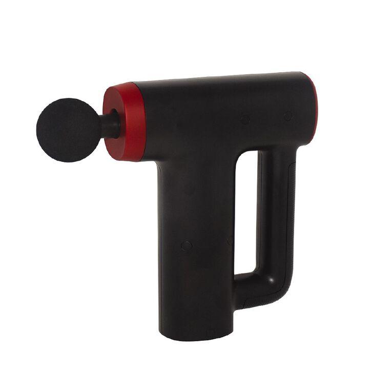 Living & Co Muscle Massager Gun Black, , hi-res