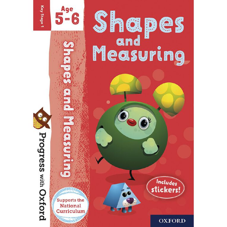 Shapes and Measuring Age 5-6 by Oxford University Press N/A, , hi-res