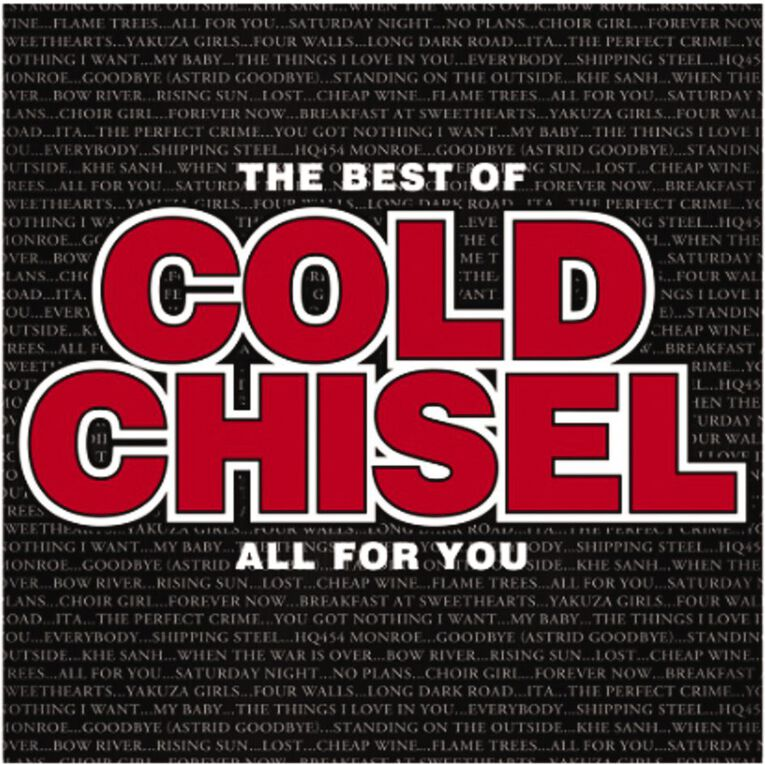 The Best Of Cold Chisel All For You CD by Cold Chisel 1Disc, , hi-res