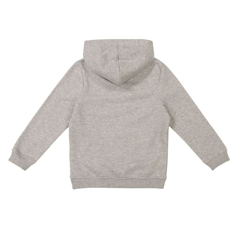 Young Original Pull Over Print Hoody Sweatshirt, Grey Marle, hi-res