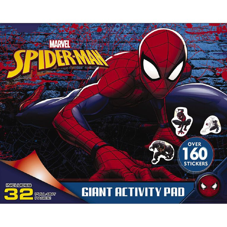 Marvel Spider-Man Giant Activity Pad, , hi-res