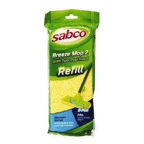 Sabco Breeze 2 Mop Refill Yellow