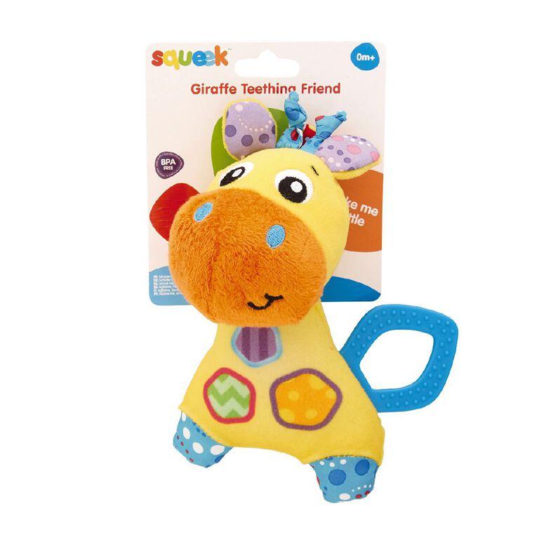 Squeek Giraffe Teething Friend, , hi-res