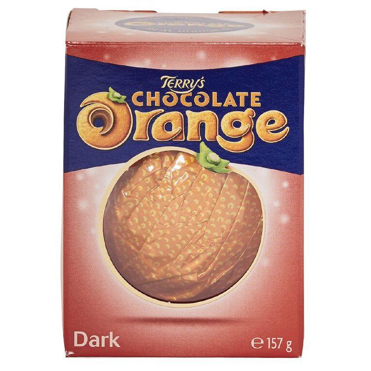 Terry's Chocolate Orange Ball Dark 157g, , hi-res