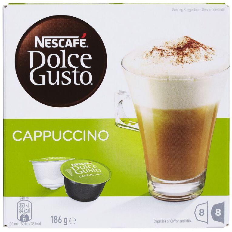 Nescafe Dolce Gusto Cappuccino 16 Capsules, , hi-res