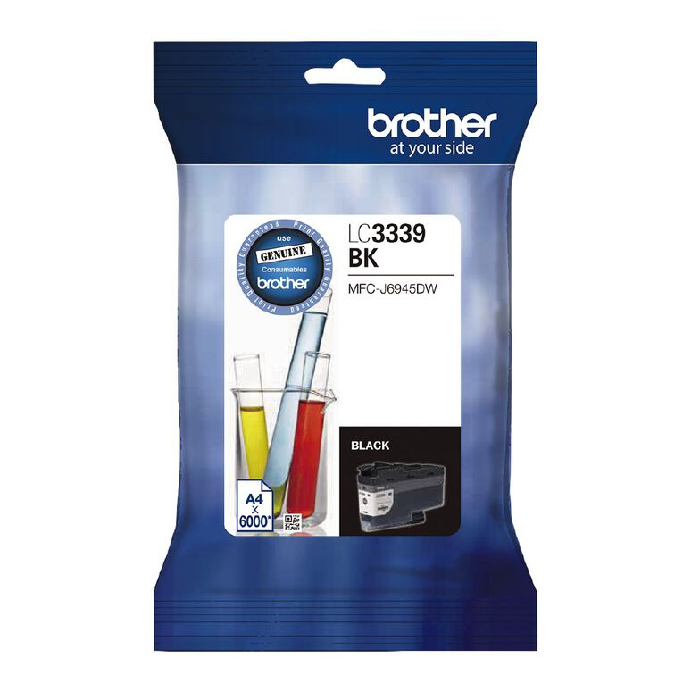 Brother Ink LC3339XLBK Black (6000 Pages), , hi-res