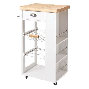 Living & Co Kitchen Trolley 4 Tier