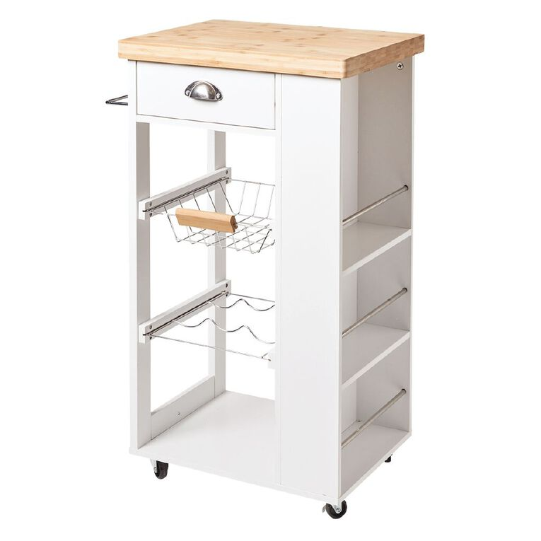 Living & Co Kitchen Trolley 4 Tier, , hi-res
