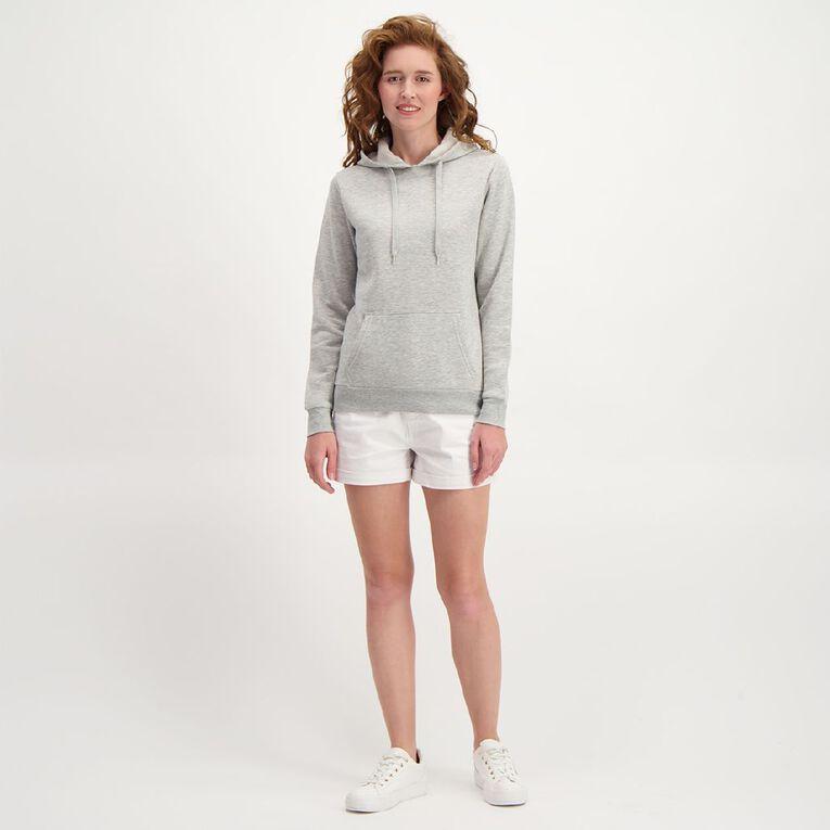 H&H Women's Plain Hoodie, Grey, hi-res