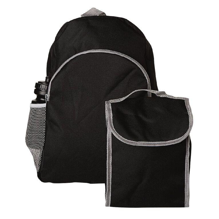 H&H Bundle Entry Backpack, Black, hi-res image number null