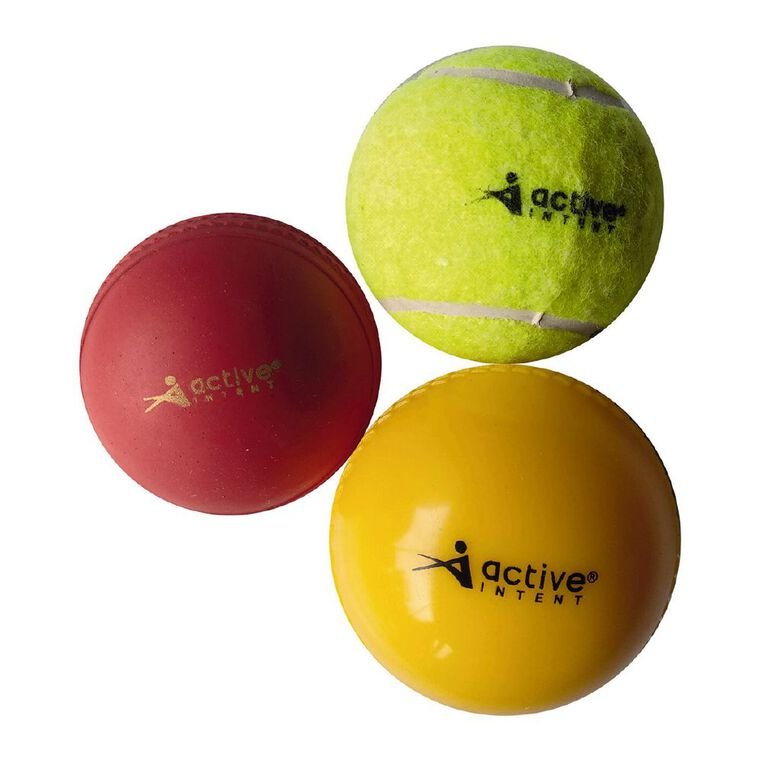 Active Intent Sports Cricket Trainer Ball 3 Pack, , hi-res
