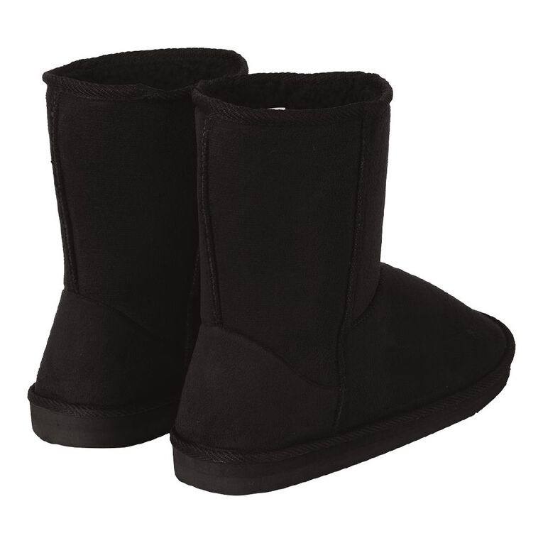 H&H Ram Slipper Boots, Black, hi-res