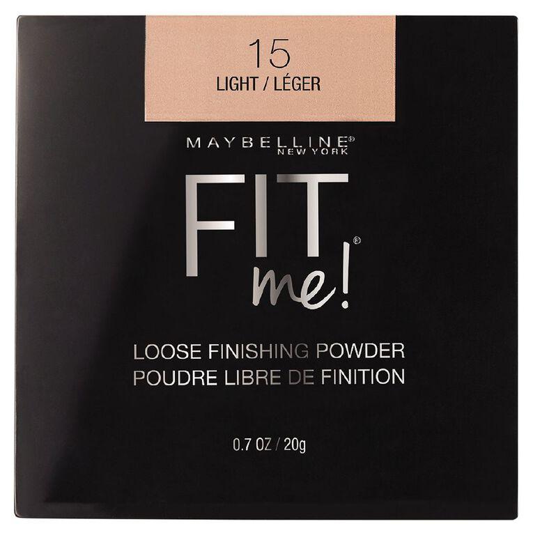 Maybelline Fit Me Loose Powder Light, , hi-res