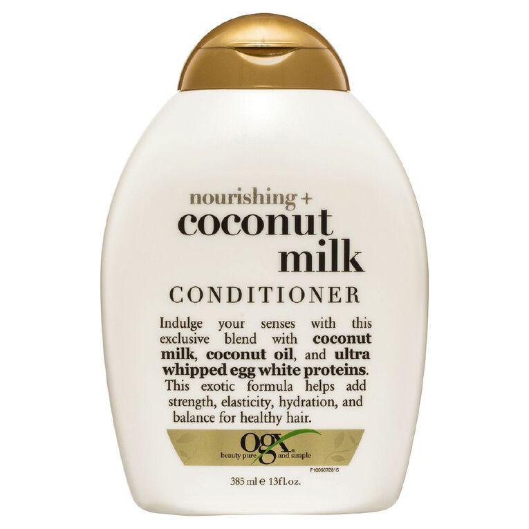 OGX Coconut Milk Conditioner 385ml, , hi-res