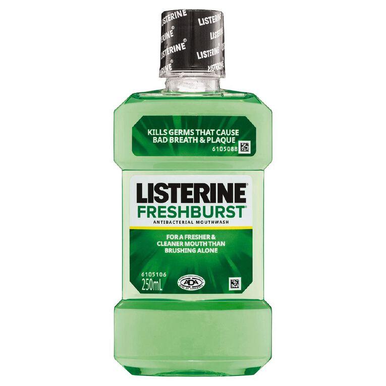 Listerine Mouthwash Freshburst 250ml, , hi-res