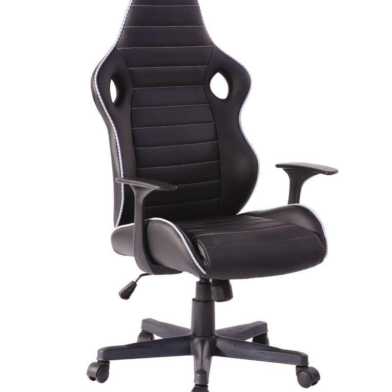 Workspace Lincoln Chair Black, , hi-res