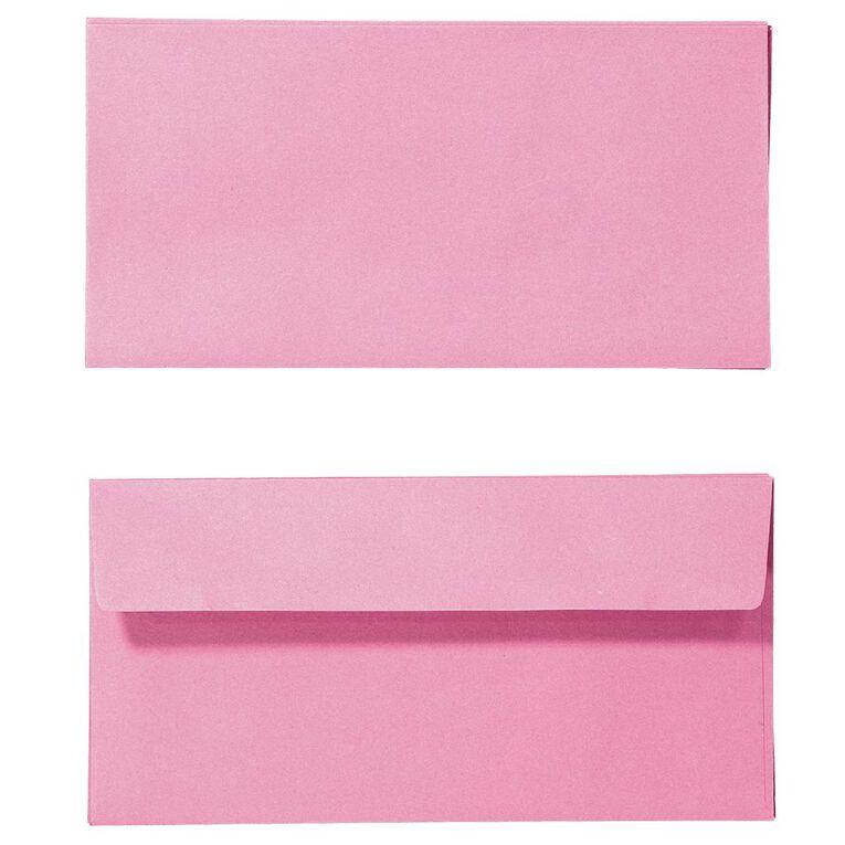 Create With DL Envelope 25 Pack Pink, , hi-res
