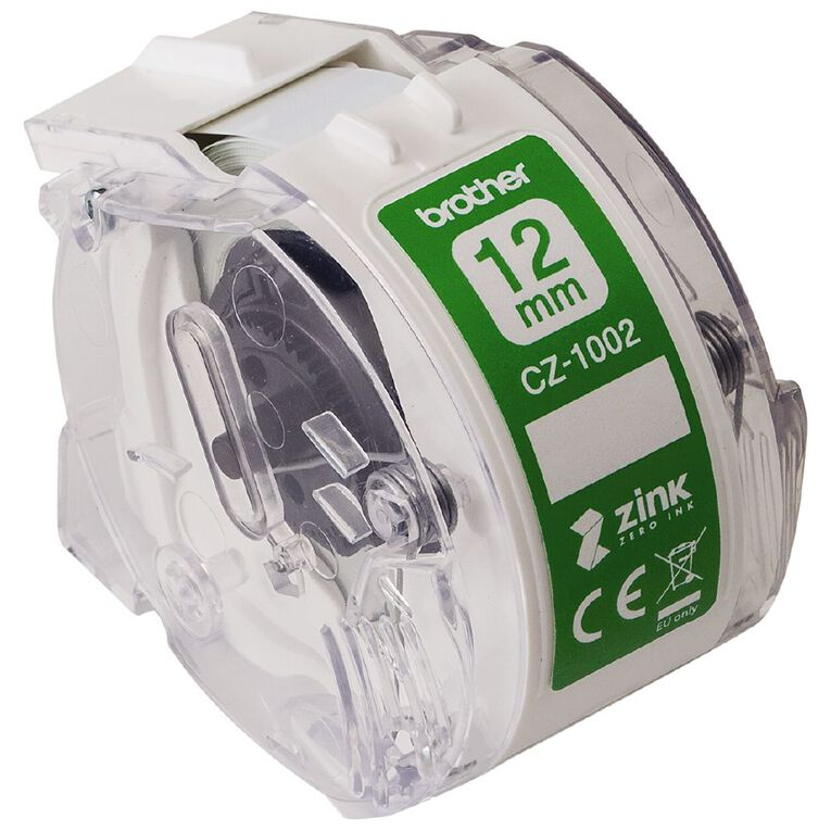 Brother CZ1002 Roll Cassette 12mm x 5m, , hi-res