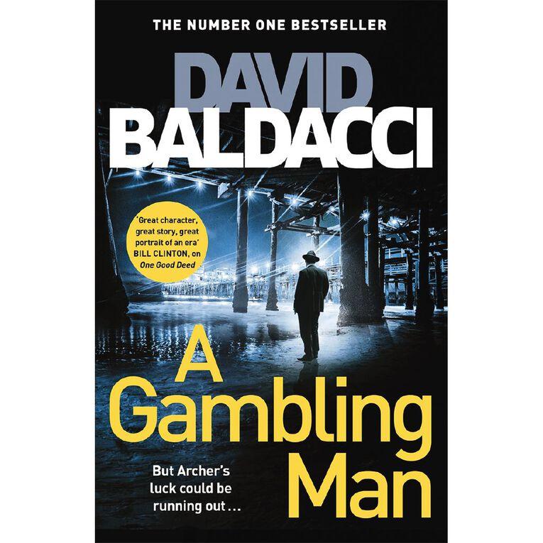 A Gambling Man by David Baldacci, , hi-res image number null
