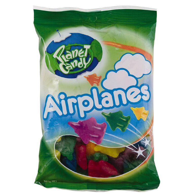 Planet Candy Airplanes 300g, , hi-res