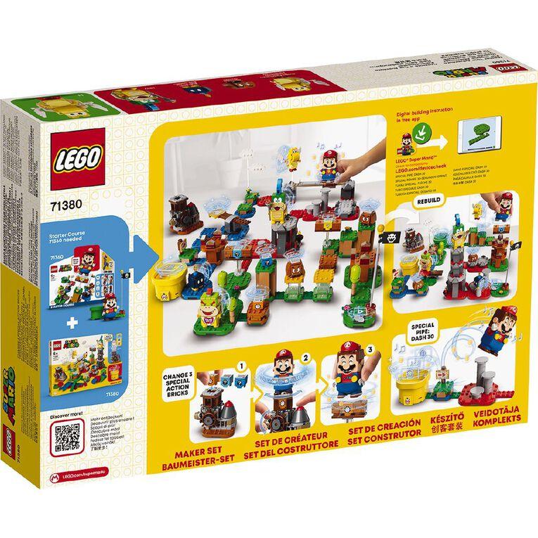 LEGO Super Mario Master Your Adventure Maker Set 71380, , hi-res