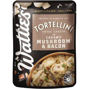 Wattie's Creamy Mushroom & Bacon Tortellini 350G