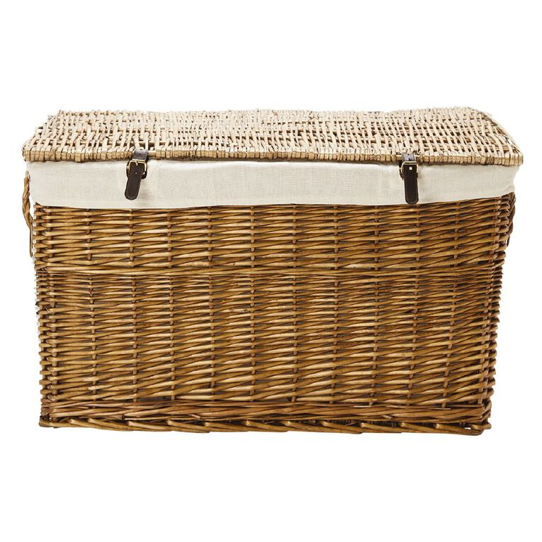 Living & Co Wicker Trunk Rectangle, , hi-res