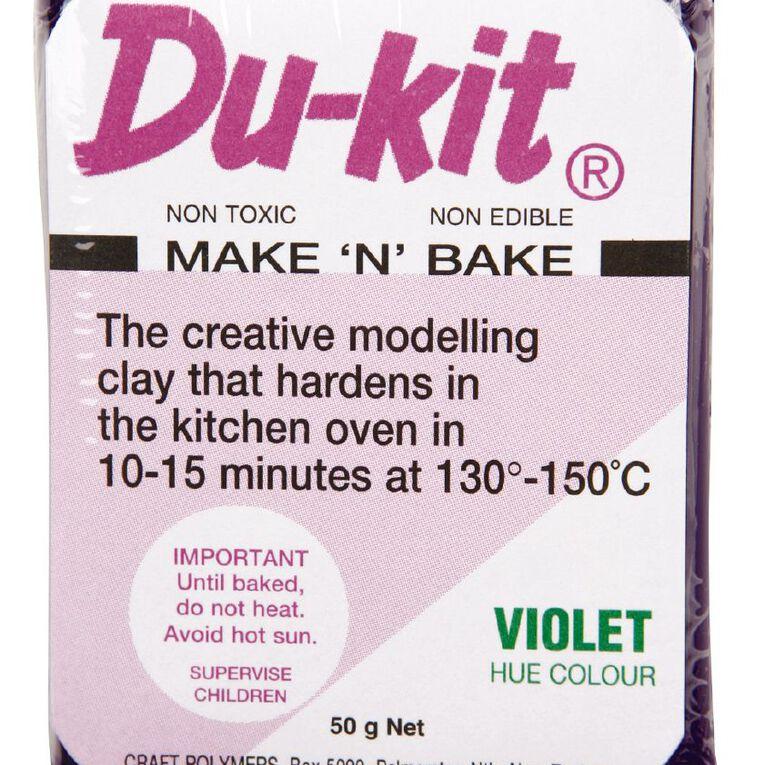 Du-kit Clay Violet 50g, , hi-res