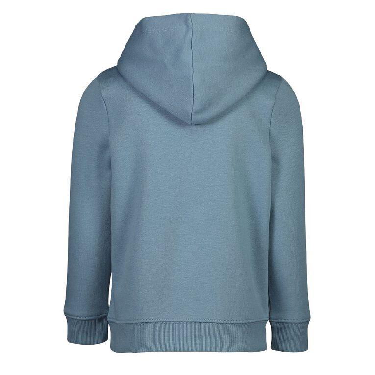 Young Original Girls' Pullover Print Hoodie, Blue Light, hi-res