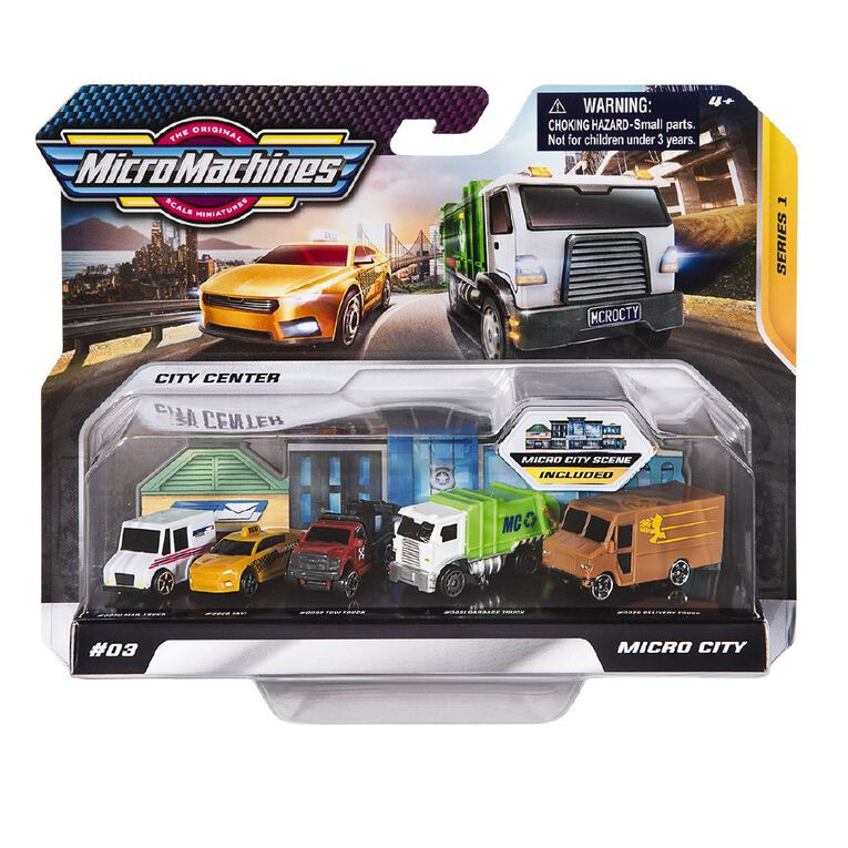 Micro Machines World Pack Assorted, , hi-res