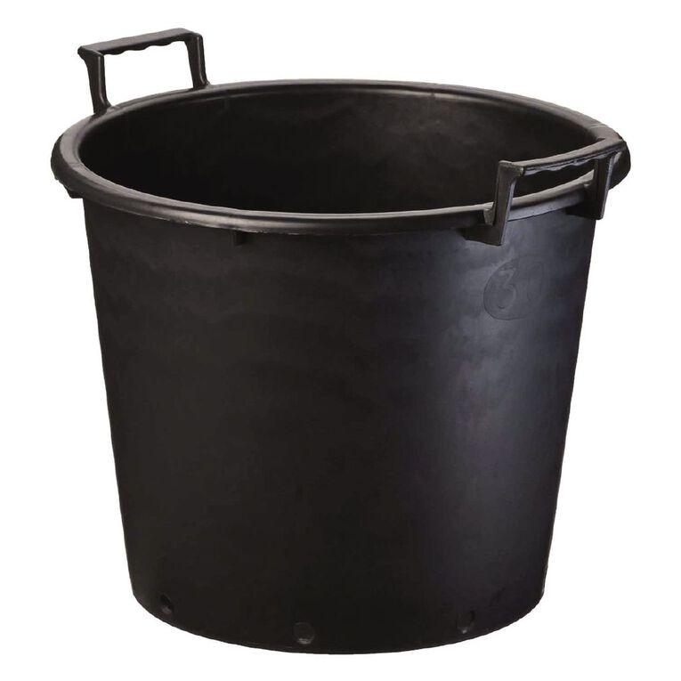 IP Plastics Plant a Bucket 40cm Black 30L, , hi-res