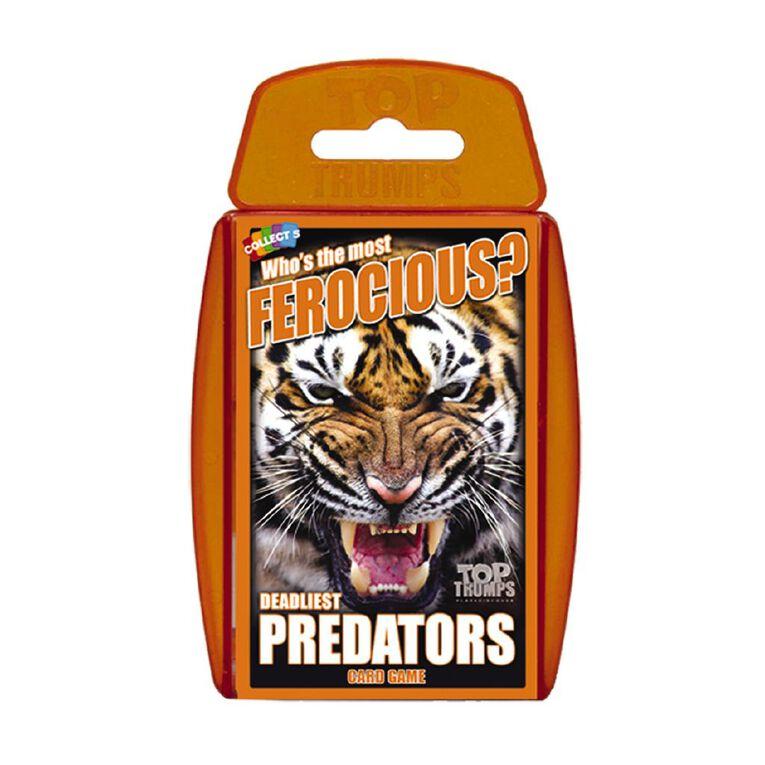 Predators Top Trumps Game, , hi-res
